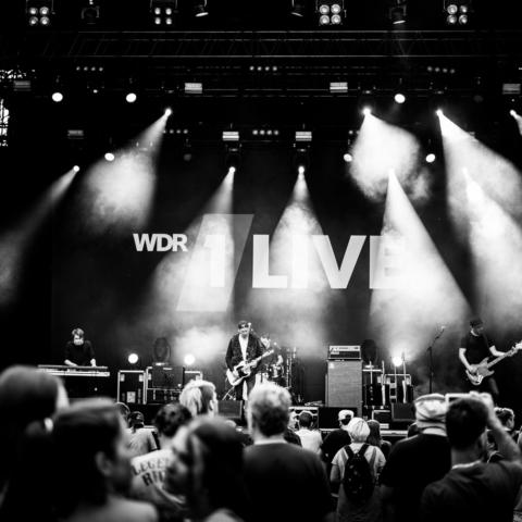 Meine Zeit, Bochum Total, 1Live Bühne